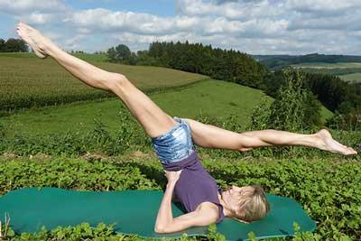 Elke - Yoga in der Natur Foto 03