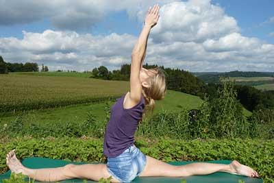 Elke - Yoga in der Natur Foto 01