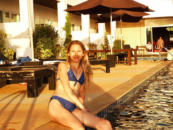 Elke Lechner in Thailand Foto 10