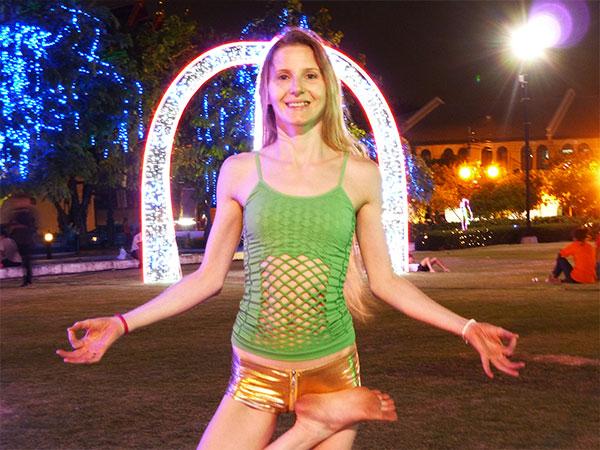 Elke Lechner in Thailand Foto 07