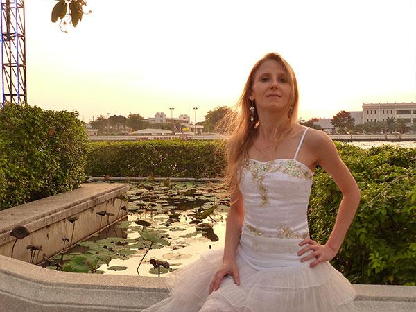 Elke Lechner in Thailand Foto 05