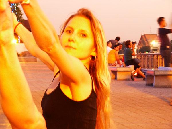 Elke Lechner in Thailand Foto 04