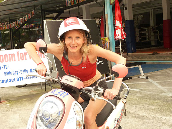 Elke Lechner in Thailand Foto 46