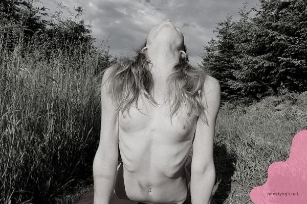 Nackt Yoga Foto - die Kobra