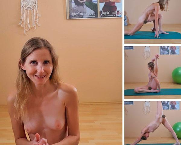Jede Woche eine Live Nackt Yoga Stunde